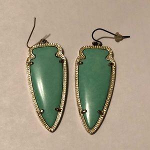 Skylar Earrings - mint green